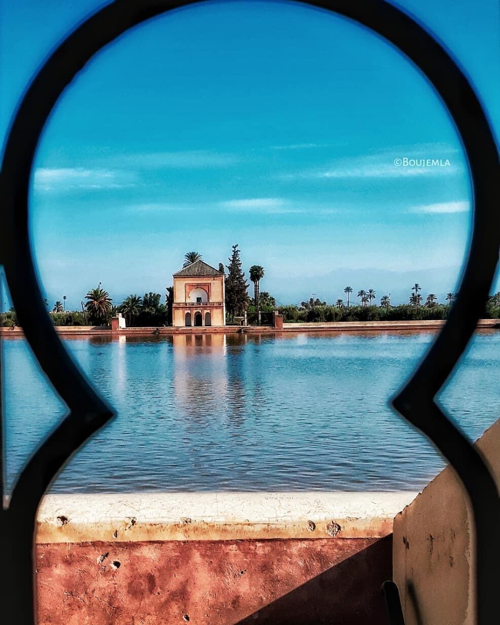 El menara de Marrakech