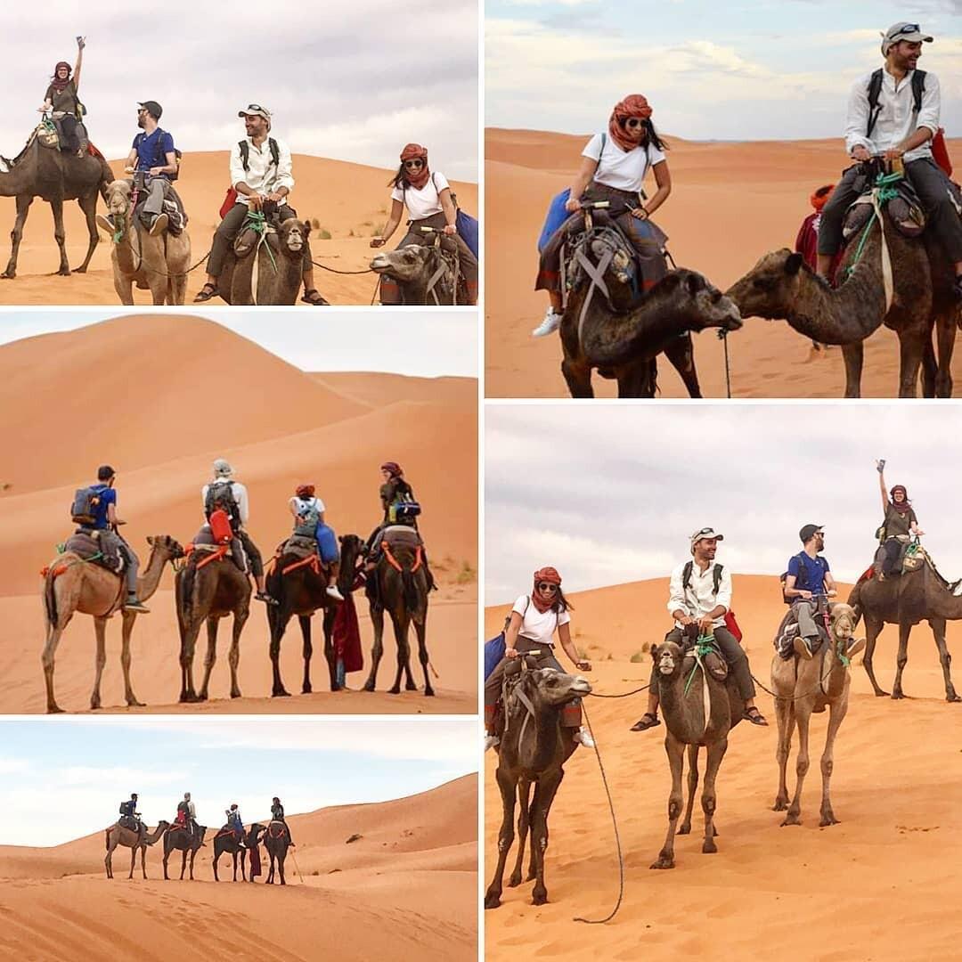 Merzouga es la majoria cuidadad para hacer ryta de 5 dias en Marruecos itineraro