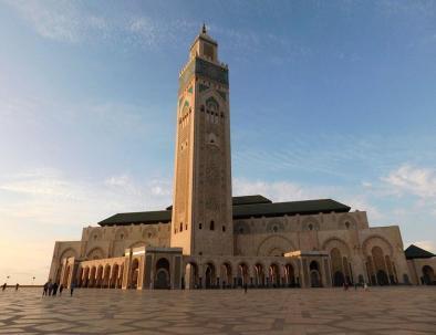 El mezquita de casablanca de nuestro Viaje por Marruecos 8 dias- Tour itinerario desde Casablanca