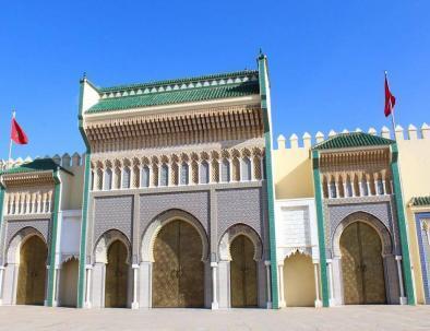 el palacio del rey in Fez con our itinerario Marruecos 8 dias desde Casablanca Viaje