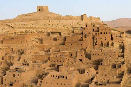 La kasbah de Ait Benhaddou con 10 dias en Marruecos, ruta y itinerario del viaje desde Casablanca