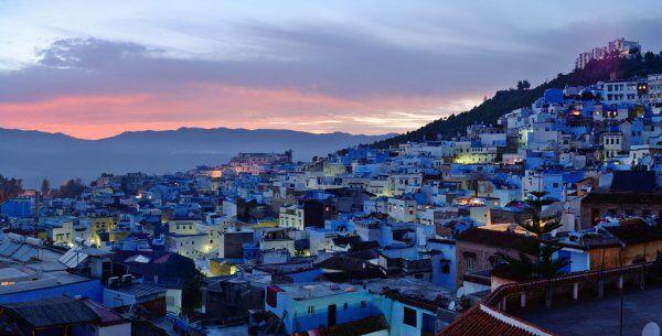 la cuidad azul, vamos a visitarlo con nuestro itinerario ruta en marruecos