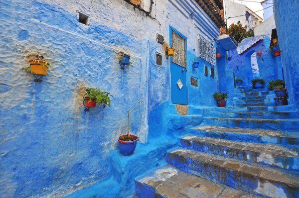 LA cuidad azul con nuestr Ruta de 2 semanas en Marruecos
