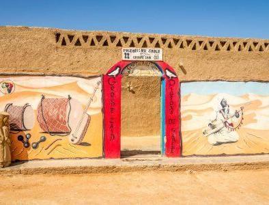 Khamlia pueblo con el Tour Marruecos 3 dias desde Fez hasta el desierto de Merzouga.