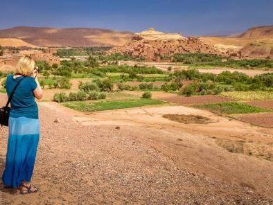 Una mujer en Marruecos