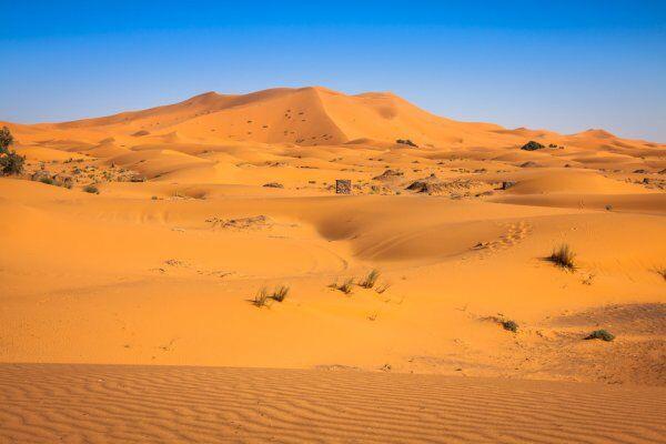 El sahara de merzouga con Ruta de 2 semanas en Marruecos