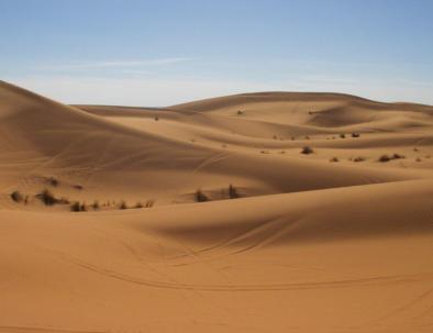 excursiones de tagnier a través del desierto del sahara de merzouga