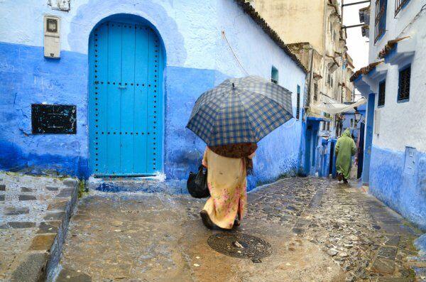 Chaouen or Chafchaouen en Marruecos
