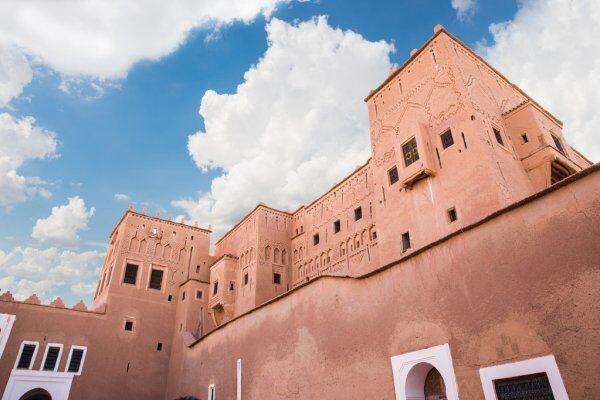 Kasbah de Taourirt en Marruecos