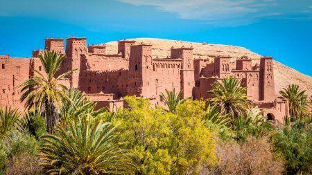vamos a visitar La kasbah de Ait benhaddou con nuestro ruta de 12 dias en marruecos
