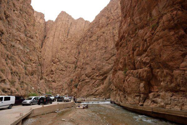 las gargantas de todgha con Ruta de 2 semanas en Marruecos