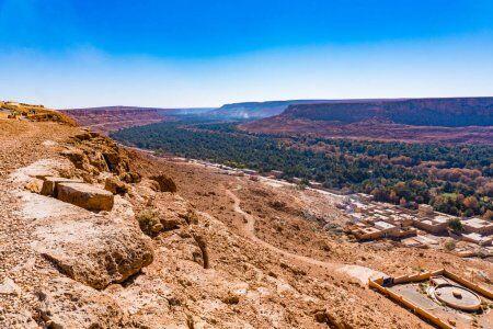 El valle del Ziz con nuestros excursiones privadas y en grupo por el desierto desde Fes