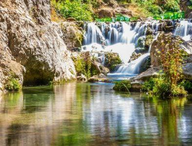 Cascades de Akchour con nuestro 2 dias ruta desde tanger a chefchaouen
