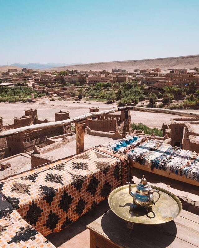 Ait benhaddou en el Excursion de 3 dias desde Marrakech al desierto de Merzouga