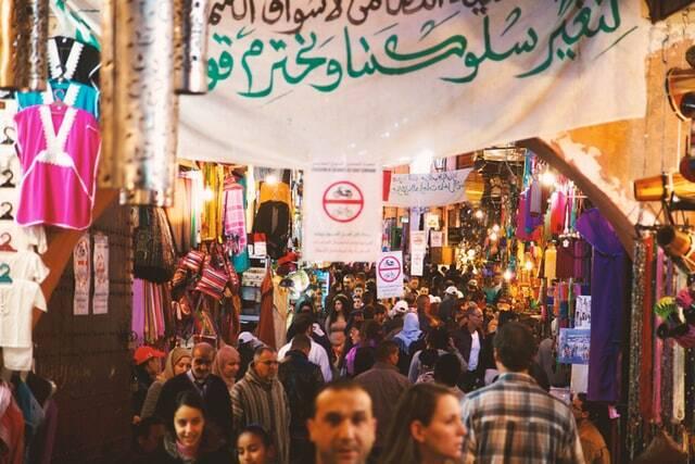 Zoco de Rissani con el 5 días de viaje de Fez a Marrakech vía Merzouga