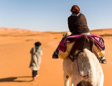 Merzouga con Tour Marruecos 3 dias desde Fez hasta el desierto de Merzouga.