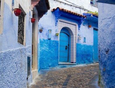 Chaouen con Fez a Chefchaouen 2 días de excursión a través de Meknes