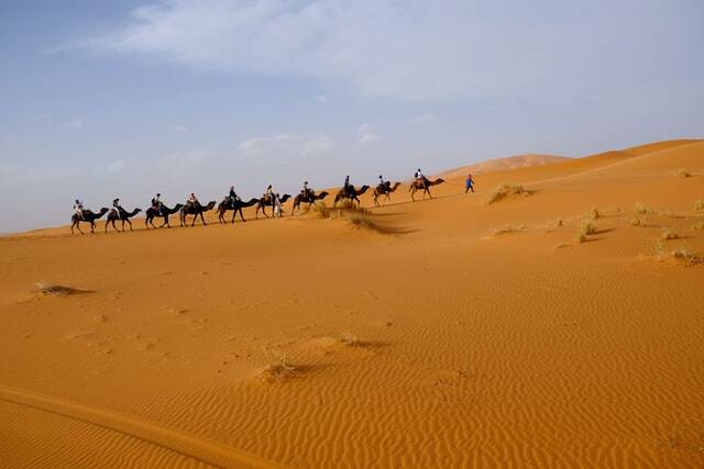 Marrakech a fez via al desierto de merzouga, ruta por al desierto
