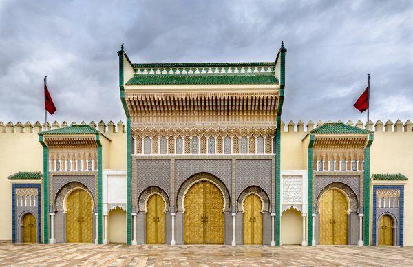 el palacio del rey, vamos a visitarlo con nuestro ruta de 12 dias por Marruecos itinerario de viaje desde Casablanca.