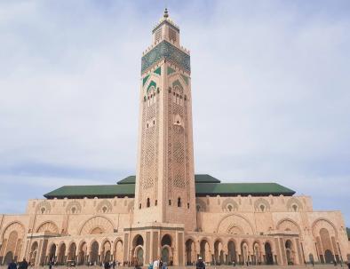 Casablanca con nuestro Ruta de 2 semanas en Marruecos