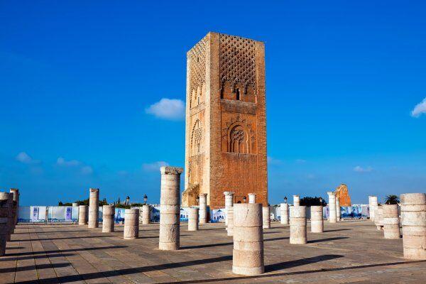 Rabat con nuestro 12 dias ruta en Marruecos itinerario