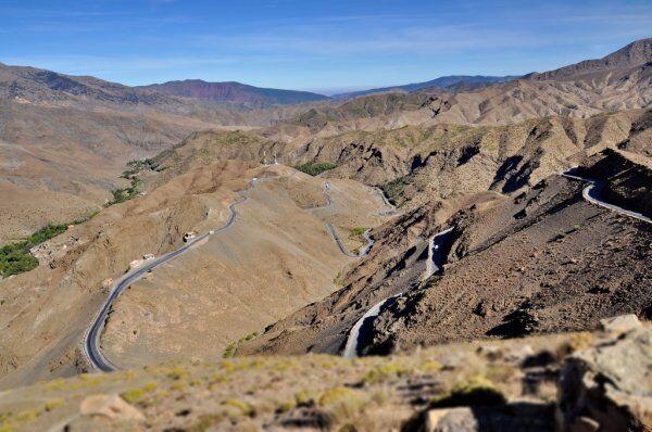 curvas de tichka, lo visitaremos con nuestro grupo y excursiones privadas al desierto desde Tánger.