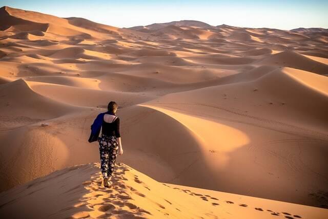 blog de viajes al desierto de marruecos