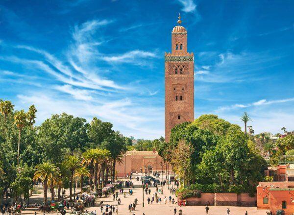 Marrakech mosque, lo visitaremos con nuestro grupo y excursiones privadas al desierto desde Tánger.