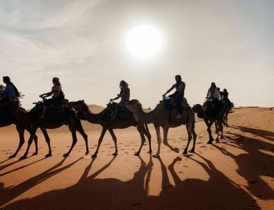ruta y viaje de 5 dias desde Marrakech al desierto de Merzouga