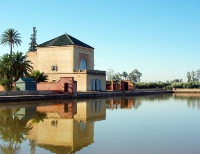 Menara garden de itinerario marruecos 7 dias