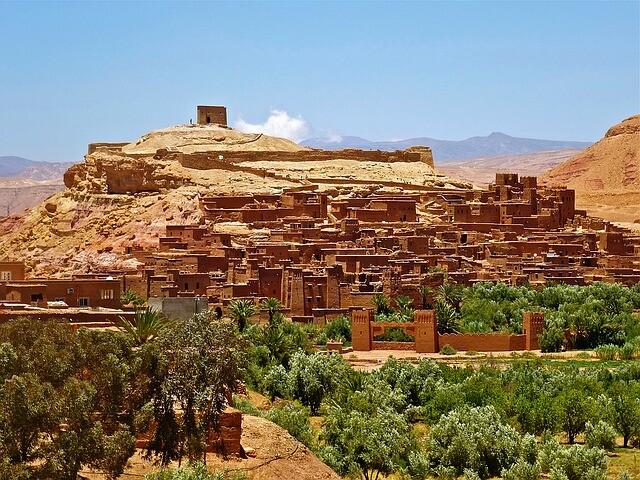 Ait benhaddou con Circuito de 5 dias desde Marrakesh a Fez via Al desierto de Merzouga.