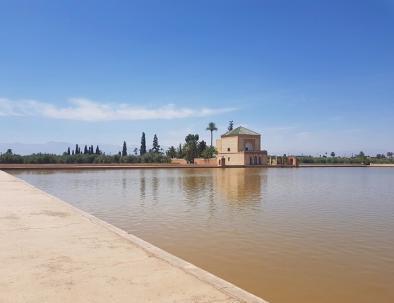 Lago de Menara con nuestro Marrakech 6 dias ruta y irinerario
