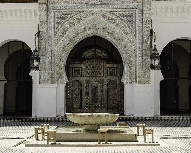 Puerta en Fez Marruecos