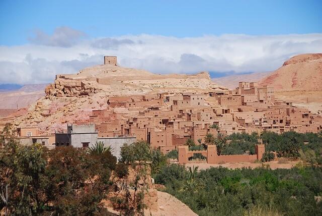 Kasbah de Ait benhaddou es una de nuestro destinos a visitar con nuestro Marrakech 6 dias ruta