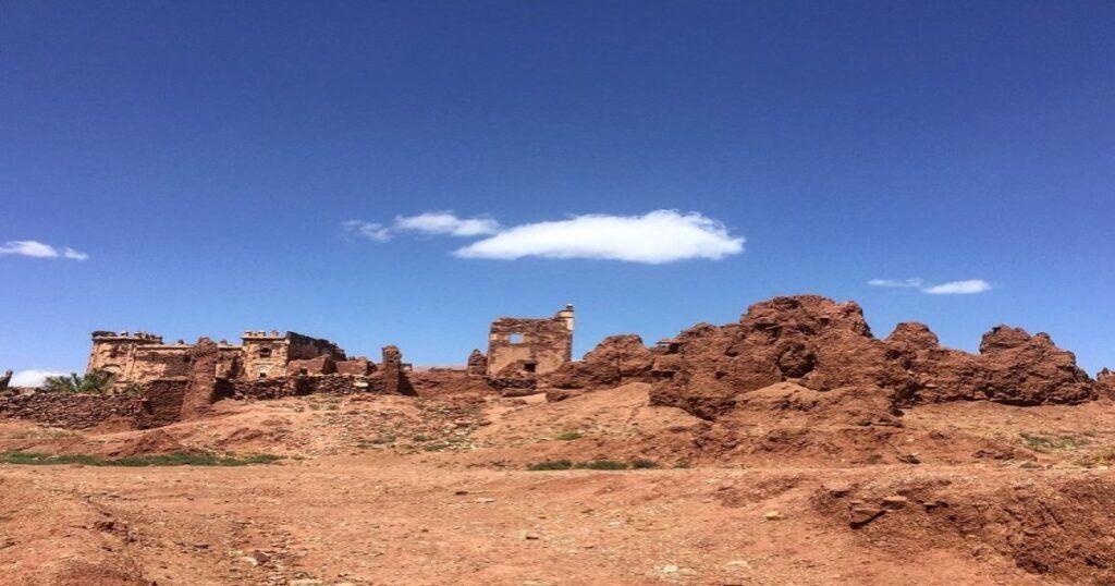 La Kasbah de Telouet en Marruecos