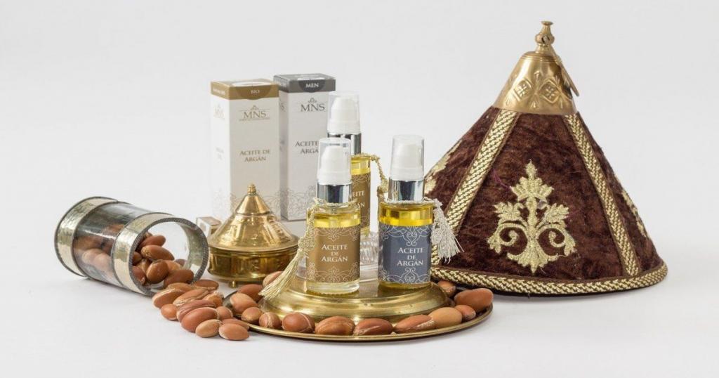 productos de aceite de argán