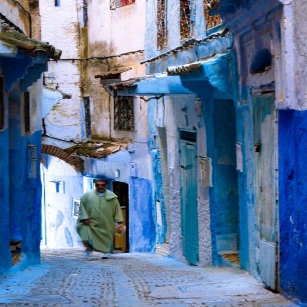 viaje con nuestro 2 dias en Marruecos ruta desde tanger a Chefchaouen
