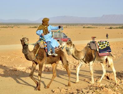 ruta de 3 dias Marrakech a Fez via el desierto