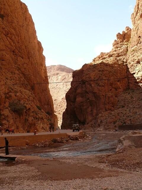 Todra en el Excursion de 3 dias desde Marrakech al desierto de Merzouga