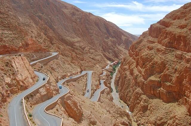 Tizi ntichka desde marrakech