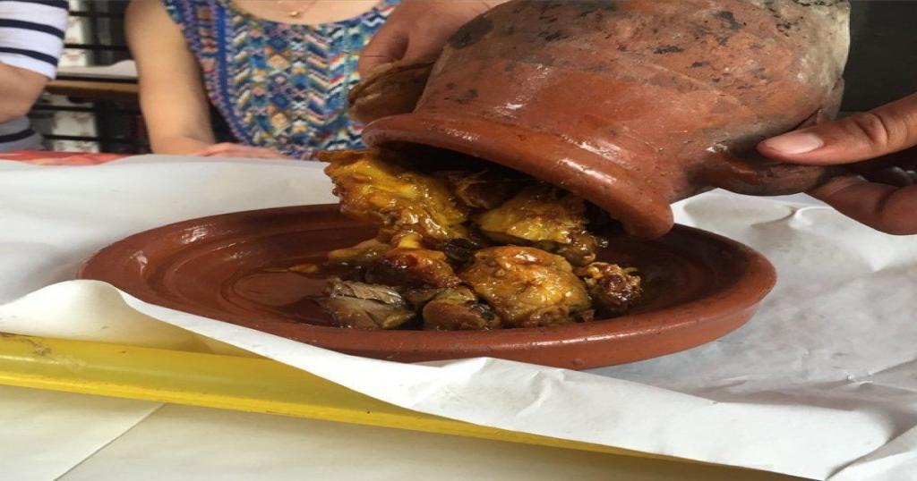 Tanjia, carne y verduras