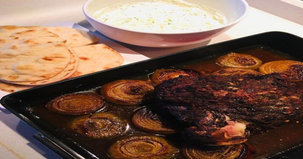 Mechoui comida en Marruecos