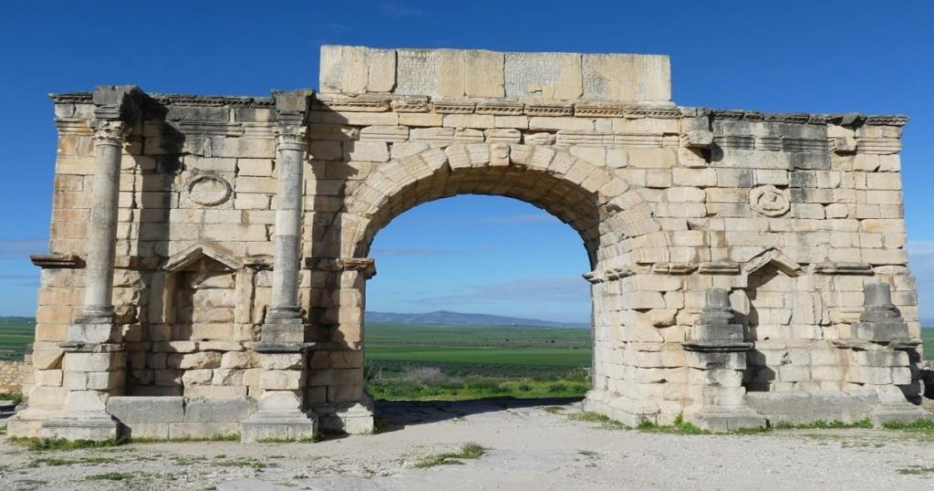 El Arco de Caracalla en Meknes