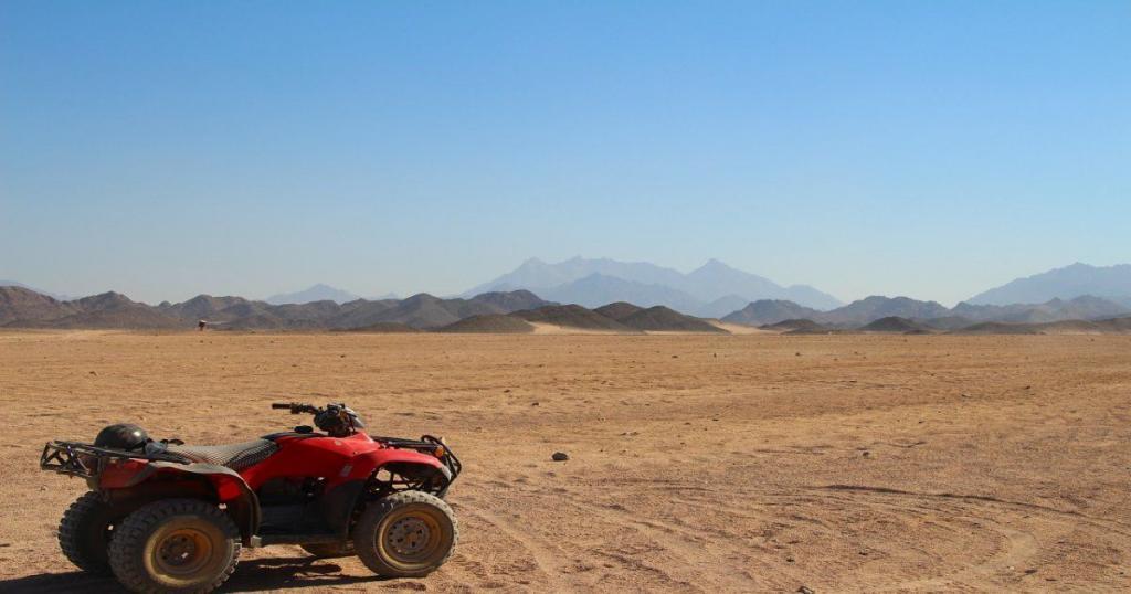 Quads en el desierto de Agafay