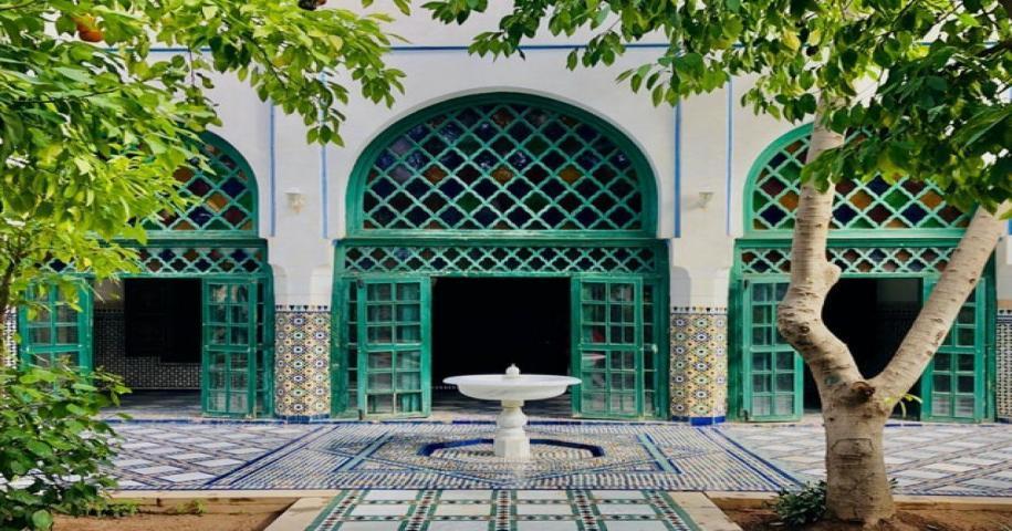 la arquitectura y el arte marroquíes