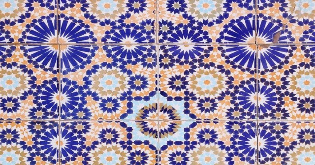 Azulejos de cerámica de Marruecos