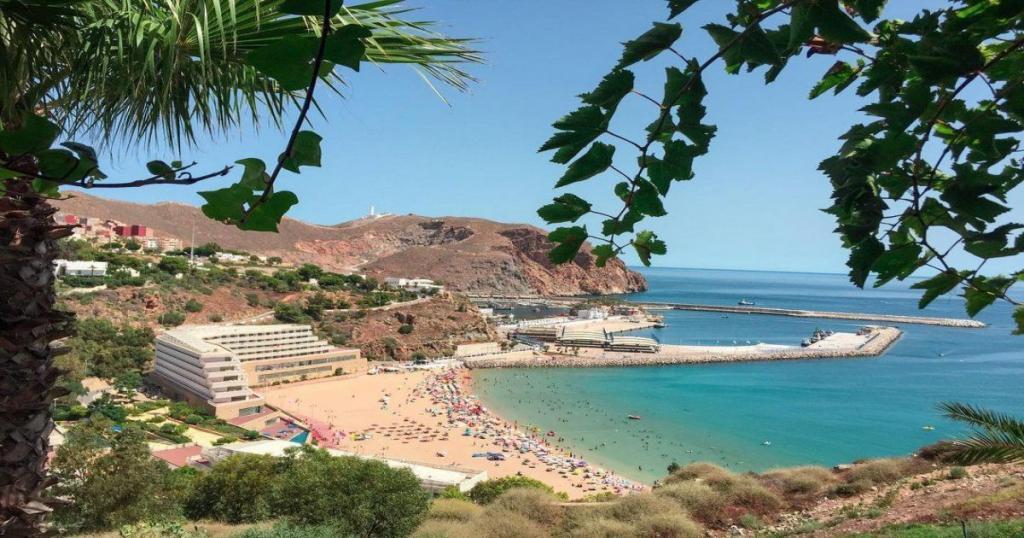 Playa del Quemado, las mejores playas de Marruecos