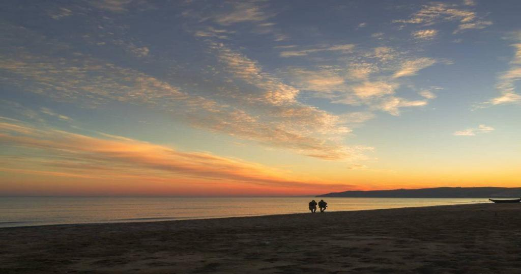 Playa de Saidia en Marruecos