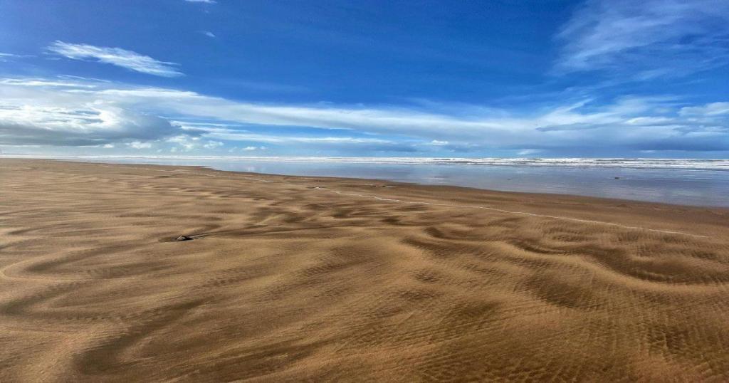 La playa de Aïn Diab