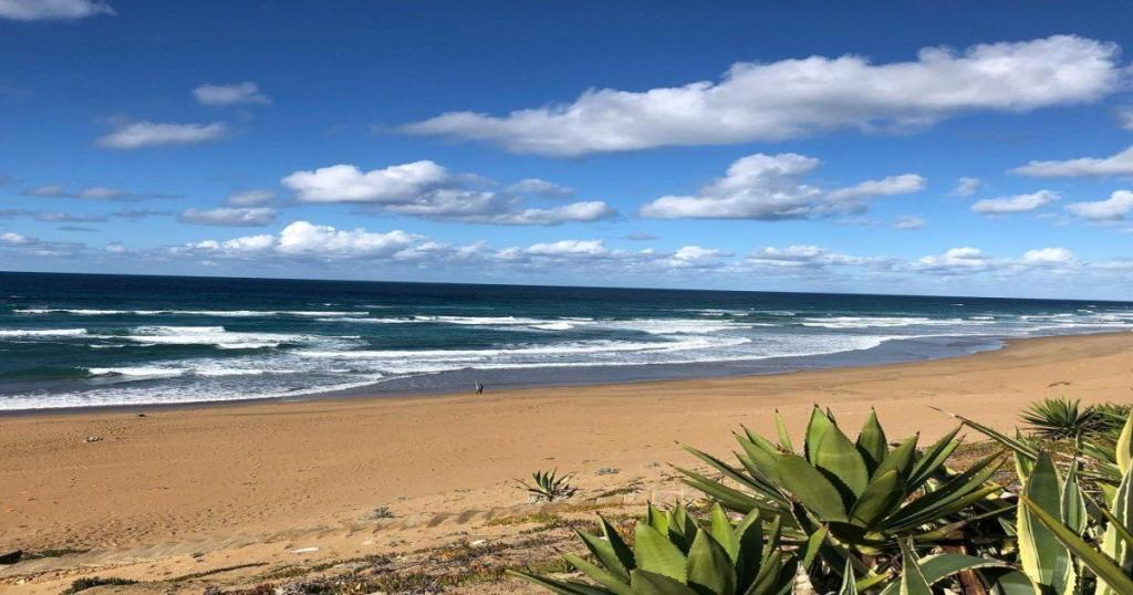 La playa de Moulay Bousselham